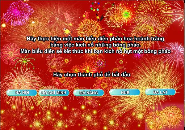 pháo hoa chào năm mới