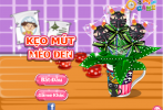 Game Kẹo mút mèo đen