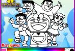 Game Doraemon Tô Màu