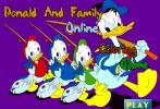 Game Tô Màu Vịt Donald