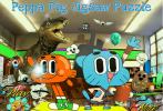 Game Gumball ghép hình