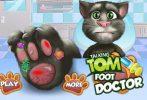 Game Tom bị đau chân