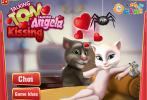 Trò chơi Talking tom hôn bạn gái