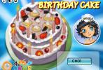 Game Làm bánh sinh nhật nobita