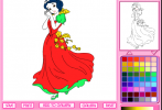 Game Tô màu tranh công chúa