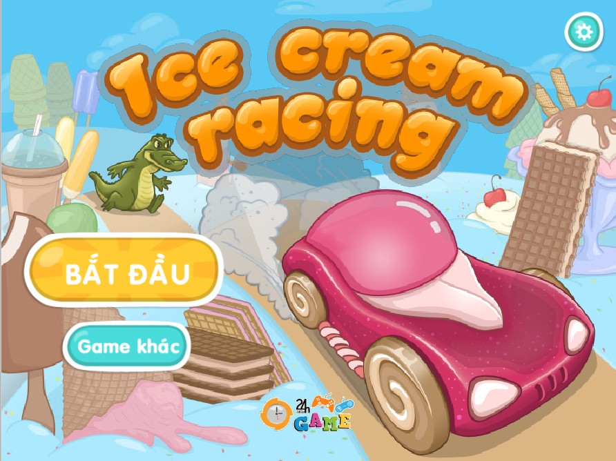 Game Đua xe chở kem