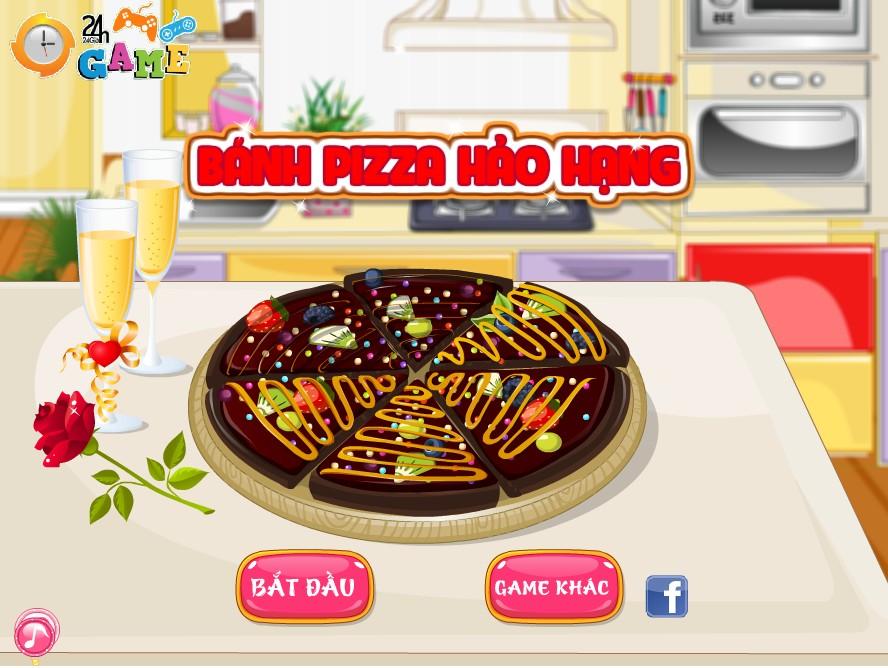 Game Bánh Pizza Socola