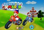 Game Doremon đua mario