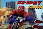 Game Người nhện đua xe đạp