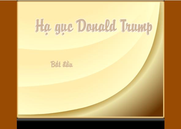 hạ gục Donald Trump