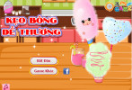 Game Học làm kẹo bông