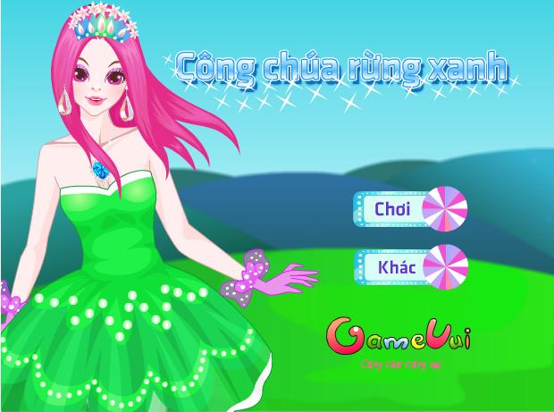 công chúa rừng xanh