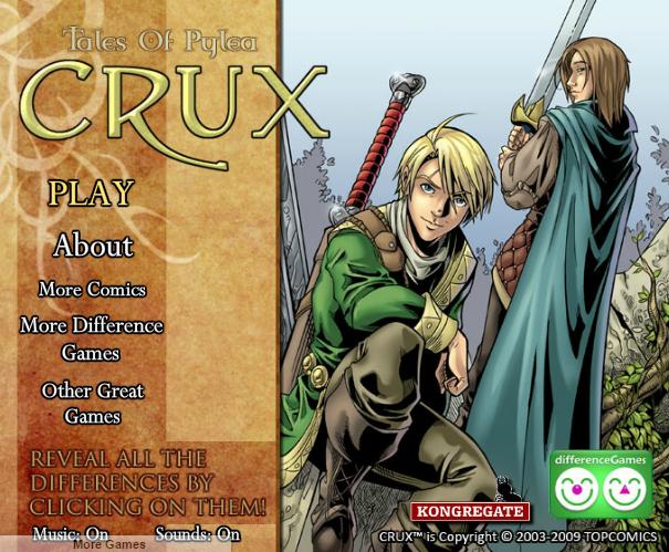 cuộc phiêu lưu của Crux