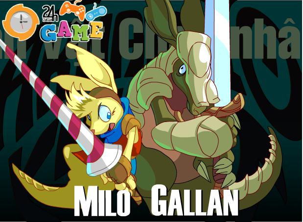 chiến binh thỏ Milo