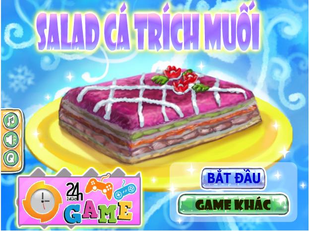 salad cá trích muối