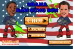 Game Obama bắn súng sơn
