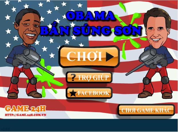 Obama bắn súng sơn