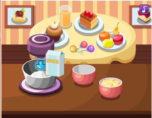 choi game làm bánh shoffly