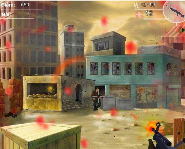 game chiến trường rực lửa
