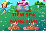 Game Tiệm spa nàng tiên