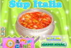 Game Làm súp Italia