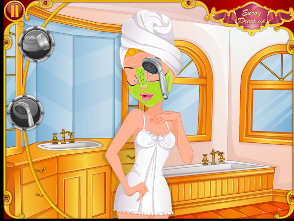 choi game trang điểm cô dâu quyến rũ