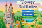 Game Xếp bài hình tháp