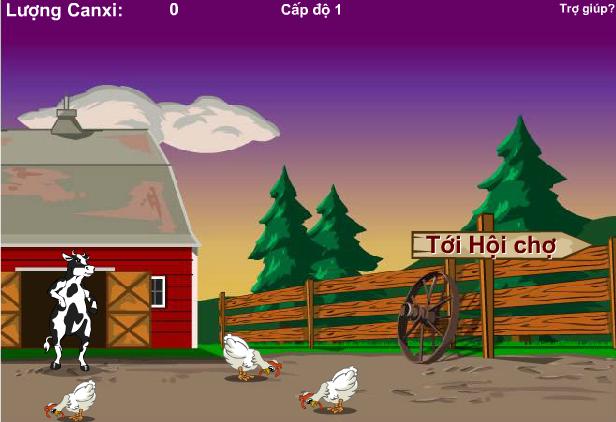 game thoát khỏi nông trại