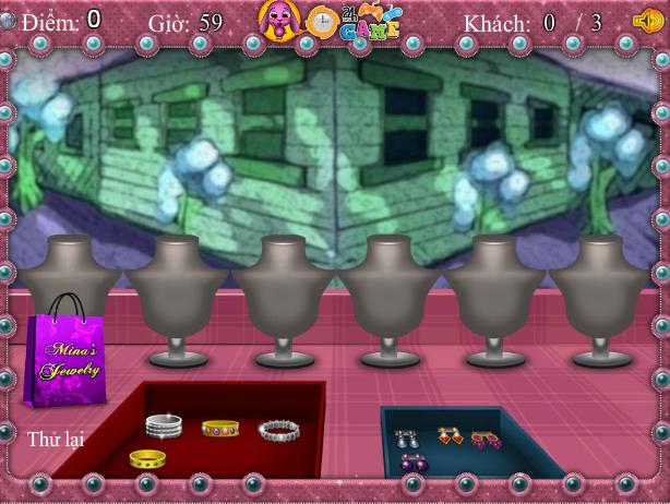 game cửa hàng nữ trang