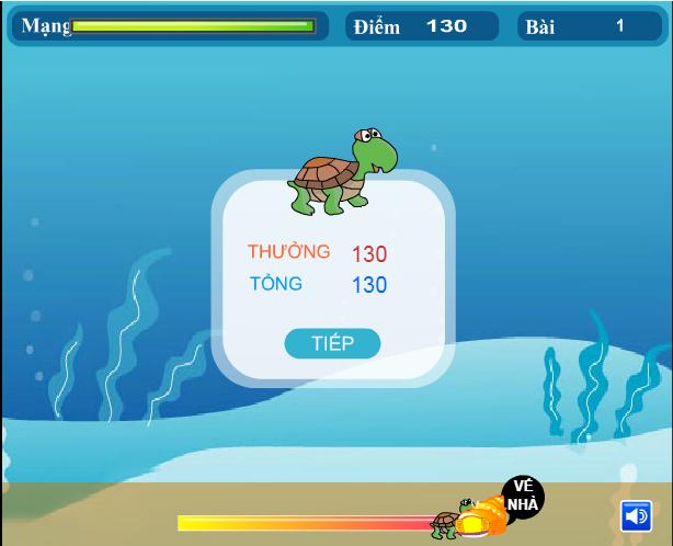 choi game chú rùa dũng cảm