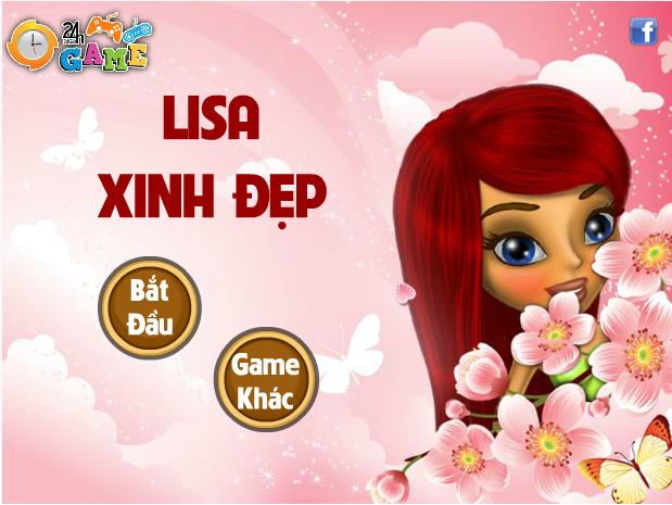 Lisa xinh đẹp