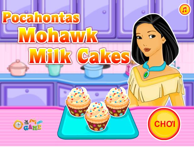bánh cupcake kem sữa