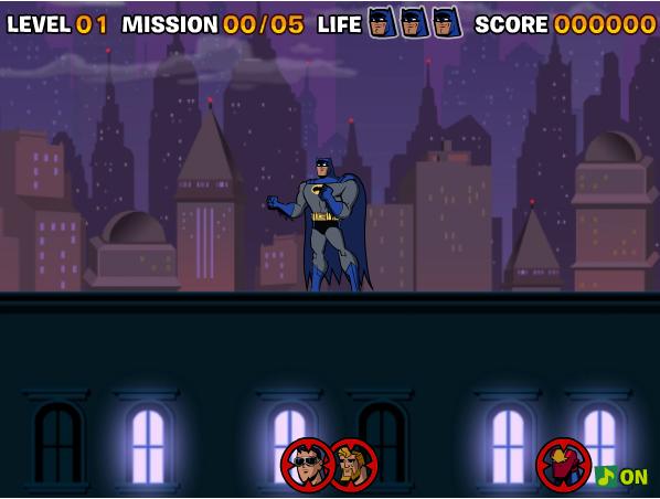 game Batman giải cứu đồng đội