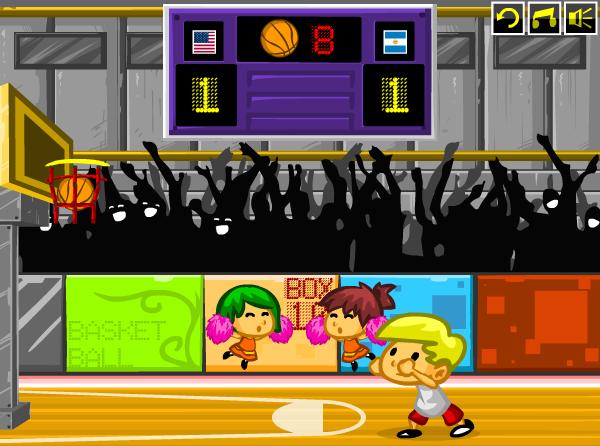 choi game cao thủ bóng rổ