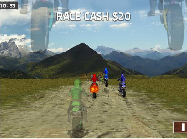 chơi game đua xe gắn máy
