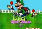 Game Luigi bắn zombie