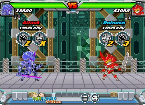 game robot ninja đại chiến