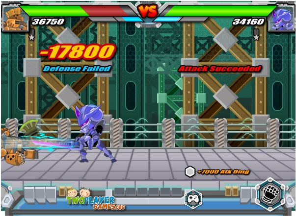 chơi robot ninja đại chiến