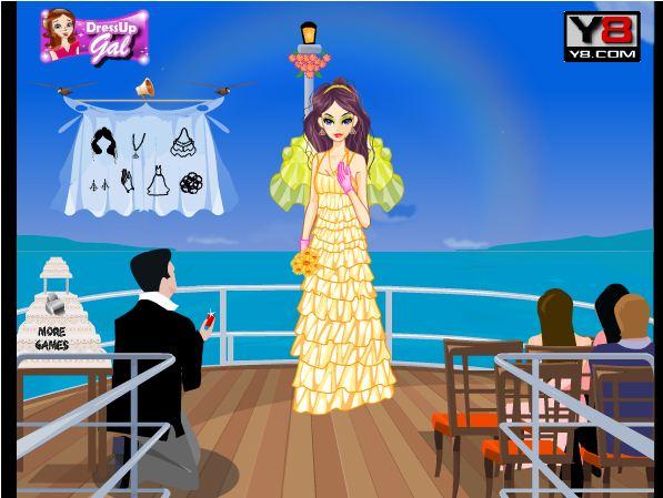 chơi game váy cưới đẹp lộng lẫy