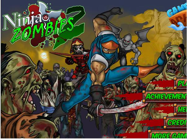 cuộc chiến giữa zombie và ninja 2