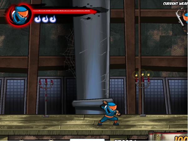 game cuộc chiến giữa zombie và ninja 2