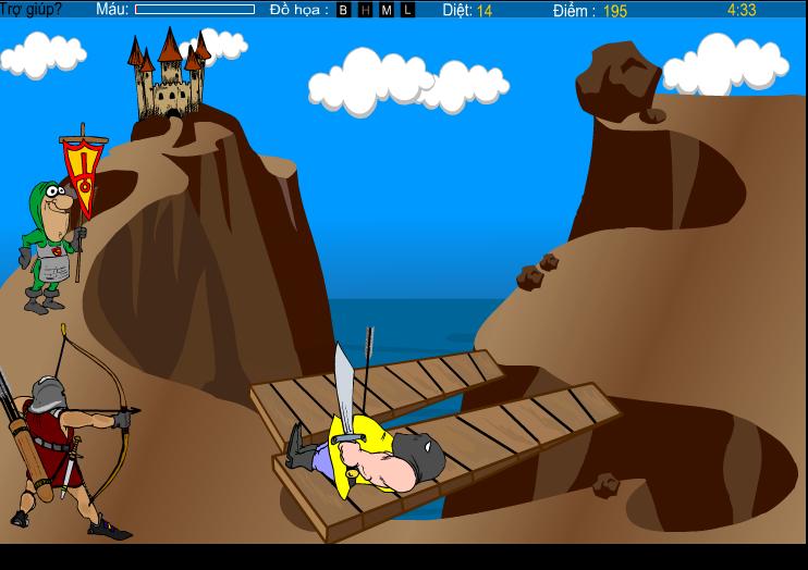 chơi game người bảo vệ lâu đài