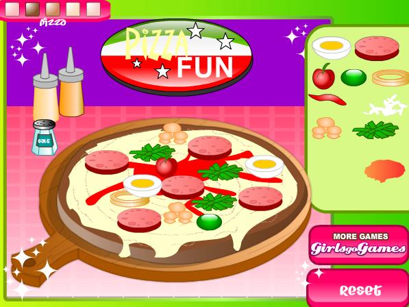 chơi game pizza vui vẻ