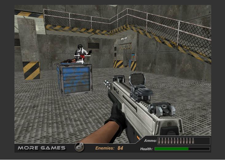 Chơi game tay súng điên cuồng 2