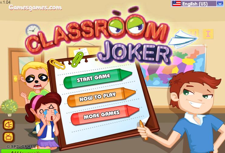trò đùa trong lớp học