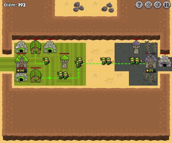 chơi game Bảo vệ vương quốc xanh