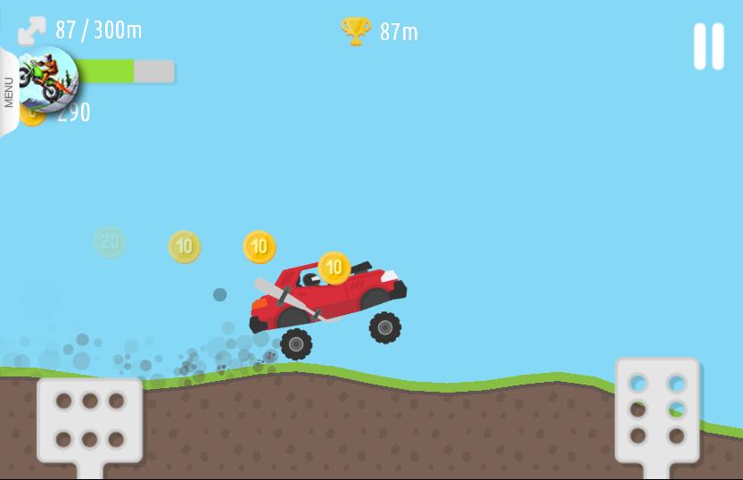 game đua xe trên đồi