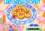 Game Làm bánh Donut