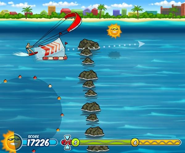 chơi game lướt ván diều