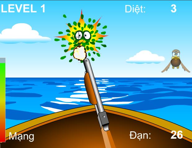 game săn vịt trên biển